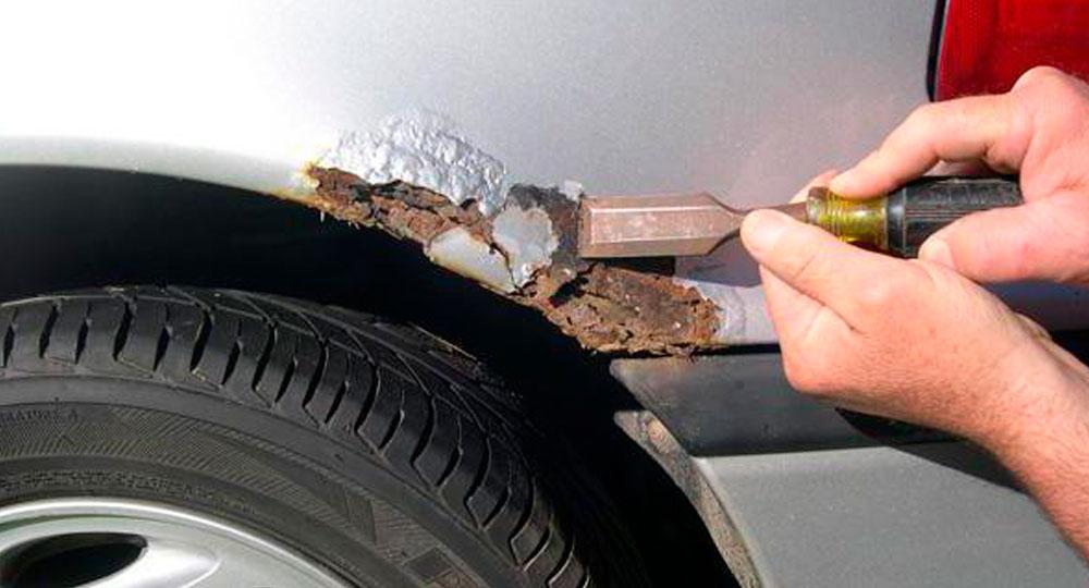 фото удаление ржавчины с автомобиля
