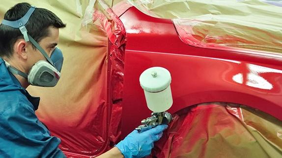 Локальна покраска автомобиля в Челябинске